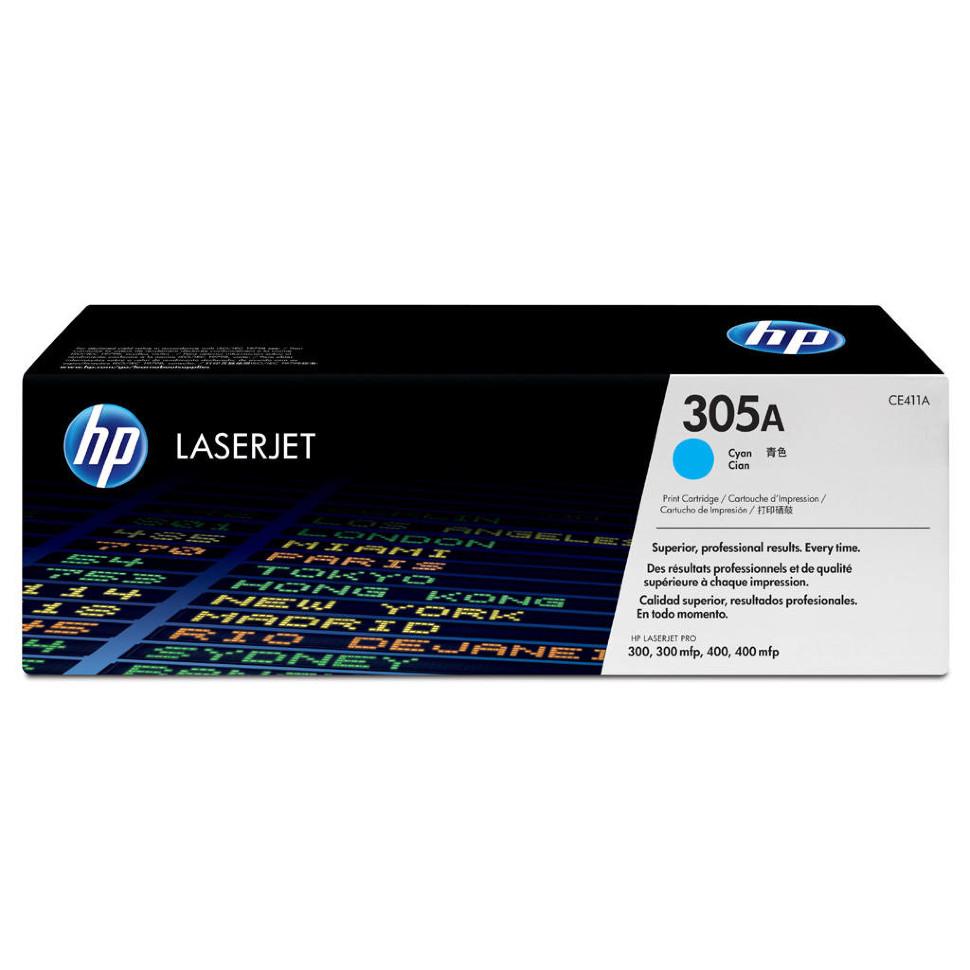 Kартридж HP CE411A Оригинальный