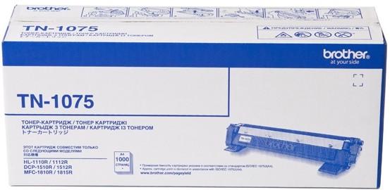 Тонер-картридж Brother TN-1075 Оригинальный