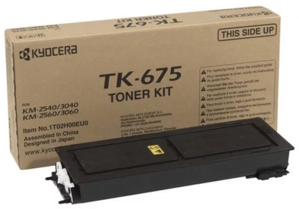 Тонер-картридж Kyocera TK-675 Оригинальный