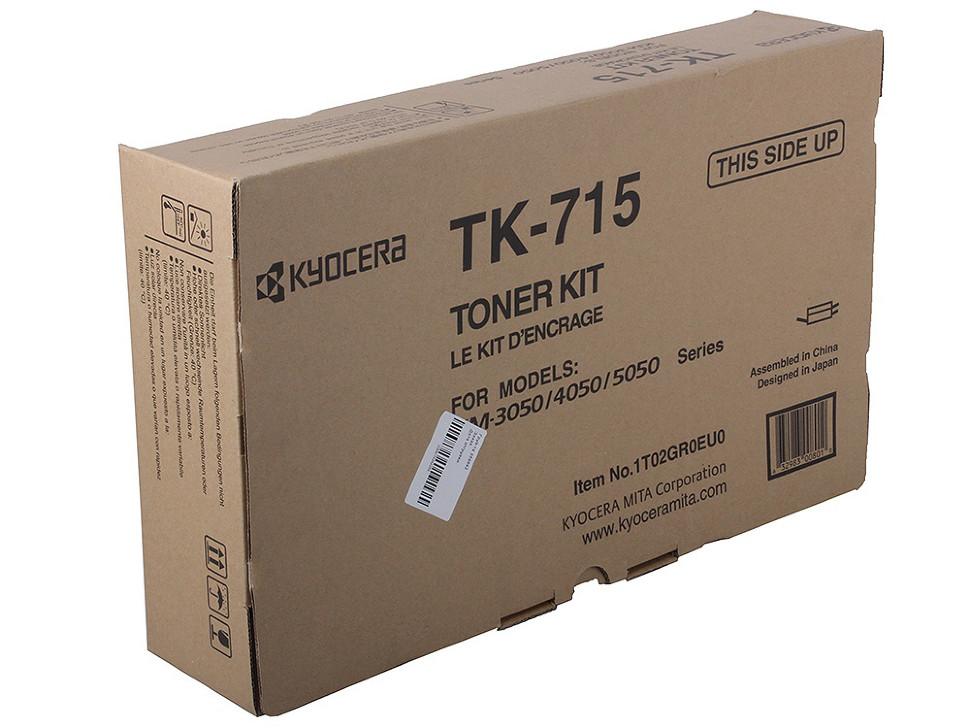 Тонер-картридж Kyocera TK-715 Оригинальный